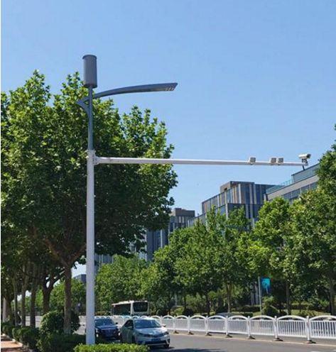 找根路灯杆就能充电上网 青岛这条路太高科技了激光划片机